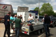 Humanitair transport mei 2014