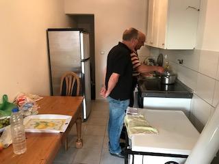 keuken uit Nederland is geplaatst en ziet er goed uit.