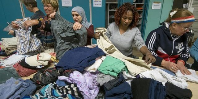 Vluchtelingen helpen en leren